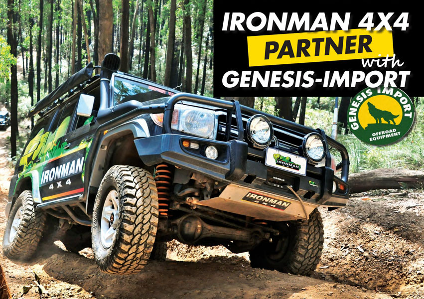 Ironman 4×4 Genesis Import Partner.