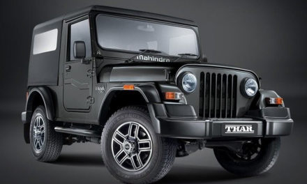 Mahindra 'Thar' off-road vehicle , coming in 2020