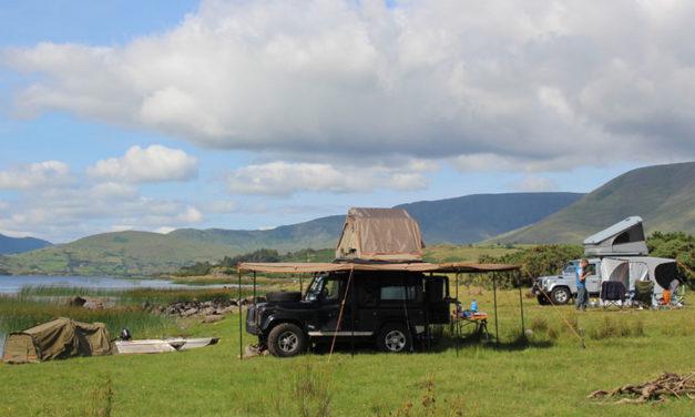 ヨーロッパの野生のキャンプ