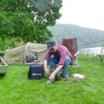 Down by the River – Cooking with a Petromax Rocket Stove