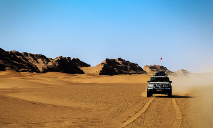 Exploring Iran by 4WD