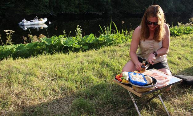 Uniflame Table, Spieße und Toaster - von Drifta.EU