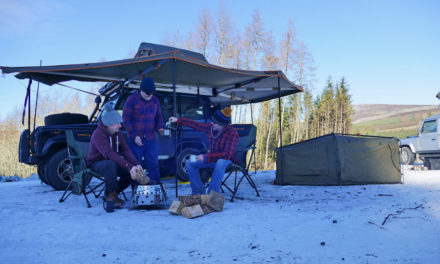 Joitakin vinkkejä leirintäalueeseen kylmällä säällä