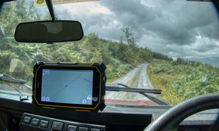 Offroad Navigation with the FOX & GPS from Navigattor