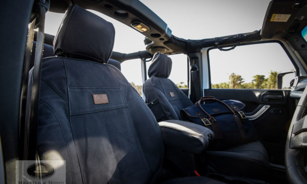 Melvill and Moon Safari Seat Covers from Tuff-Trek