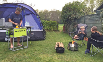 The Joys of Back Garden Camping