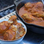 Chicken Curry Drumsticks- Easy Camp Cooking Meals