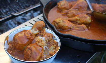 Chicken Curry Drumsticks - Easy Camp kookmaaltijden