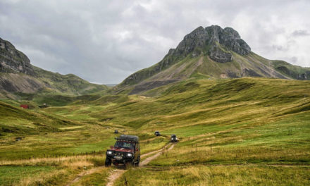 6 په اروپا کې د 4WD ګرځندوی تعقیبونه