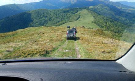 Bulgaria arakatzen 4WD-an