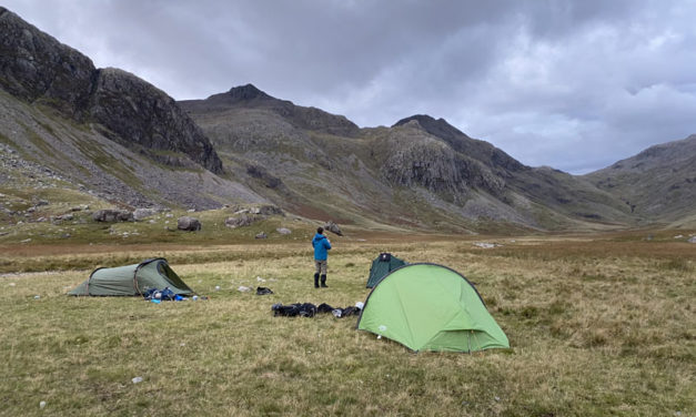 Wild Camping – Because it's there..