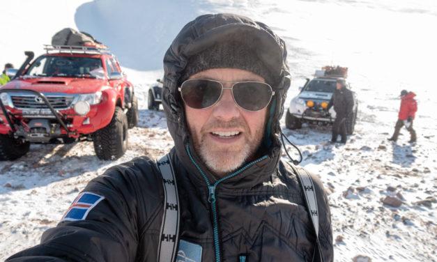 Arctic Adventurer Emil Grimsson vertrouwt op de Hakkapeliitta 44-band van Nokian Tyres