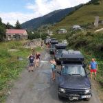 Touren durch Georgia in einem 4WD