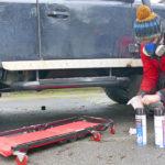 Verhinderung von Dinitrol-Fahrzeugrost