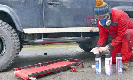 Dinitrol Vehicle Rust Prevention