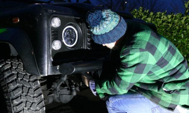 Winch Bumper para sa Land Rover Defender mula sa Bearmach