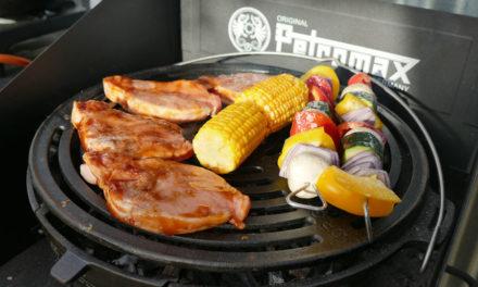 Petromax ile Kamp Ateşi Pişirme